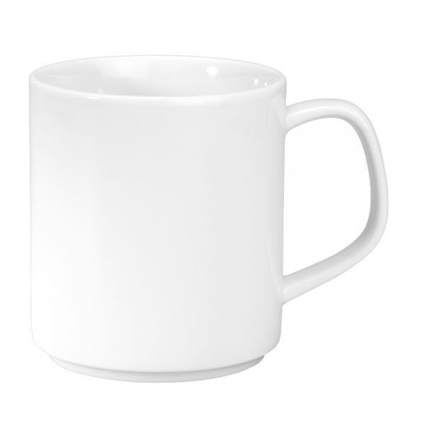 ALASSIO Henkelbecher Inhalt 32 cl - Ø 8 x 8,7 cm (Spülmaß 11,4 cm, stapelbar)
