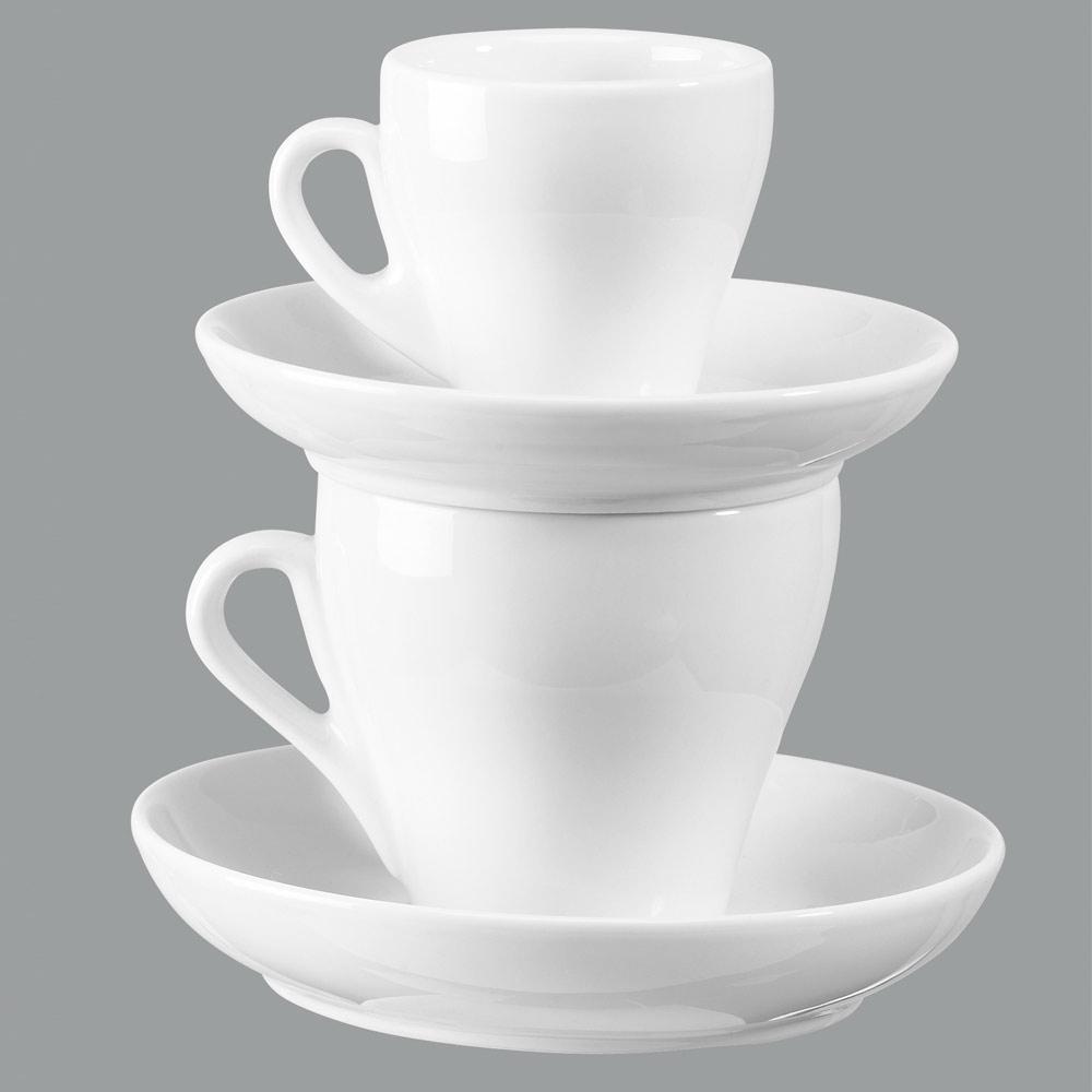 italiano cappuccinotasse inhalt 17 cl untere 13 7 cm tassen und henkelbecher geschirr. Black Bedroom Furniture Sets. Home Design Ideas