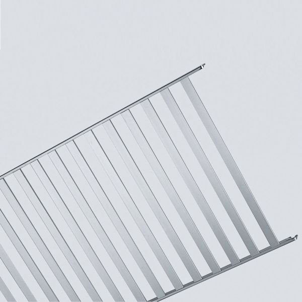 aluminium rost 120 x 40 cm regale edelstahlm bel technoluchs luchs direkt austria. Black Bedroom Furniture Sets. Home Design Ideas