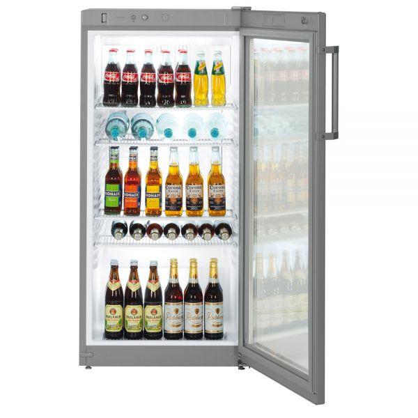 Glastür-Kühlschrank \