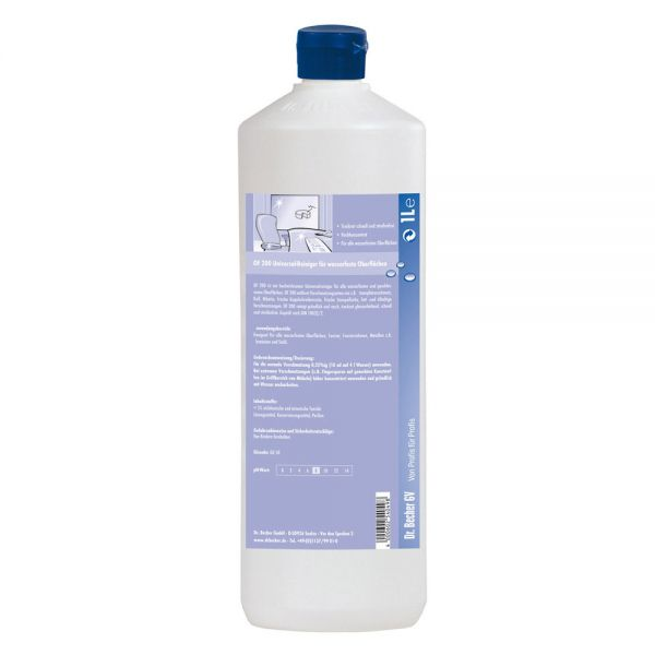Dr. Becher OF 200 Universalreiniger für wasserfeste Oberflächen 1 Liter