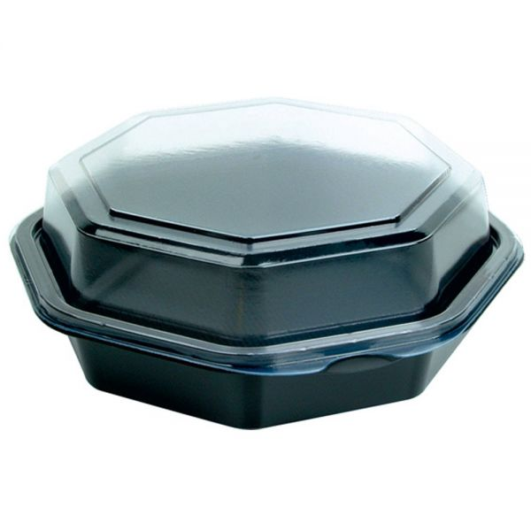 octaview box mit anh ngendem deckel 16 x 16 x 6 cm schwarz transparent 405 st ck. Black Bedroom Furniture Sets. Home Design Ideas