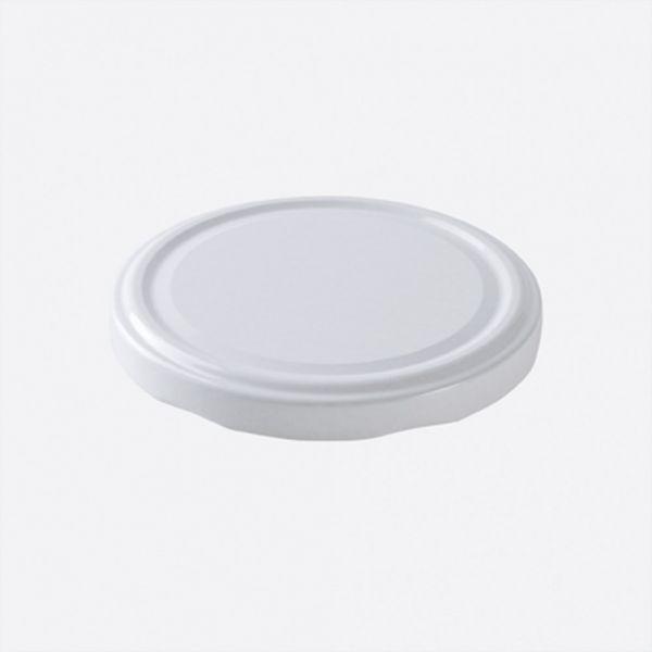 deckel f r schraubverschluss glas 8 cm wei einmachgl ser fingerfood buffet luchs. Black Bedroom Furniture Sets. Home Design Ideas